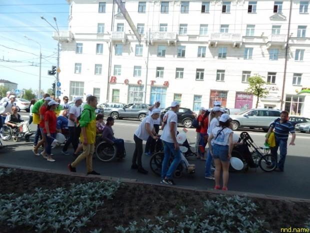 Мини-марафон инвалидов-колясочников, Витебск