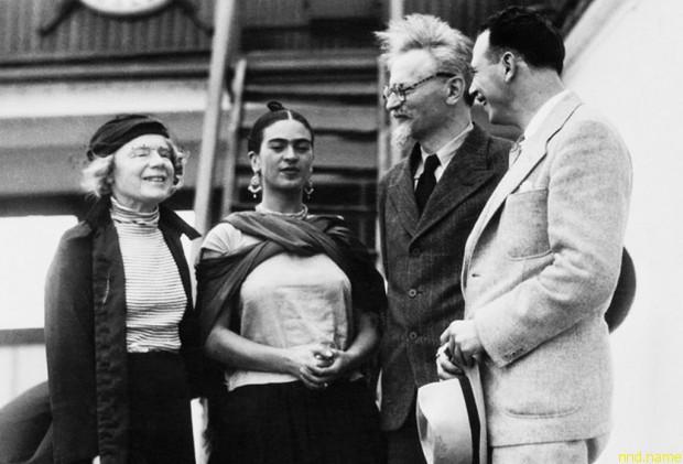 Связь с Фриды с Троцким долго не афишировалась