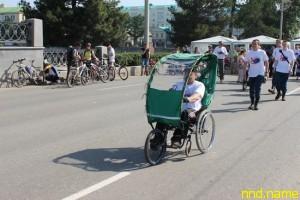 Уральский мастер модернизировал коляску для инвалидов