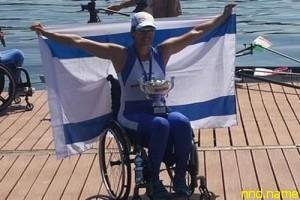 Израильская спортсменка-инвалид завоевала золотую медаль в Италии