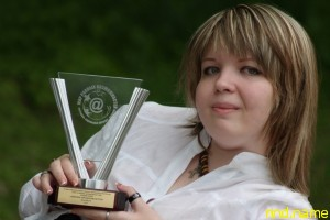Маргарита Гудкова лауреат «Мир равных возможностей»