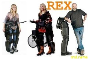 Инновационный экзоскелет REX теперь и в России!