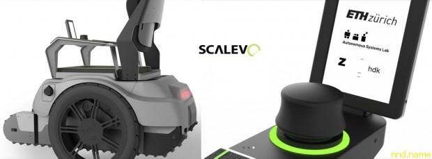 Прототип электроколяски Scalevo