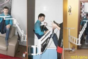 Универсальный подъёмник для инвалидов-колясочников - MINIK