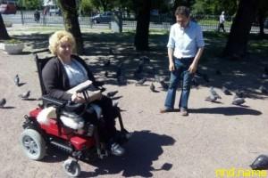 Галина Ларионова - живет, продолжает борьбу за каждый свой день