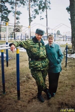 Владимир с мамой