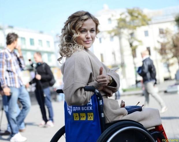 Ксения Безуглова, победитель на мировом конкурсе красоты среди колясочников