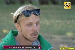 Александр Авдевич - из Лиды к Балтийскому морю на хэндбайке