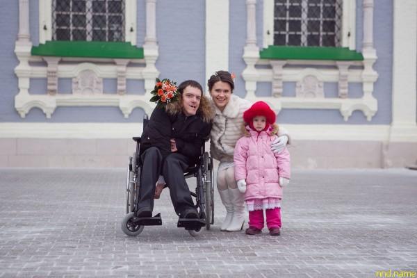 Вячеславу Егоров - ДЦП и любовь