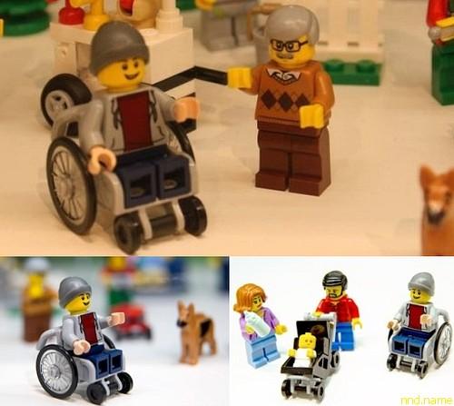 LEGO выпустила человечка в инвалидном кресле