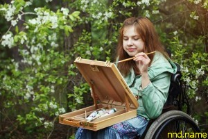Художнице в коляске - Анастасии Фёдоровой нужна помощь