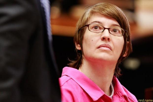 46-летняя Анна Стабблфилд в суде