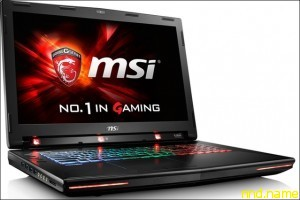 ноутбук GT72S Tobii