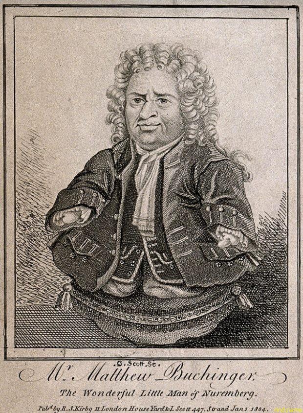 Матиас Бухингер, родившийся в Альпах в Германии в 1674