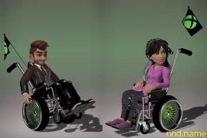 Microsoft предоставит аватарам Xbox инвалидные кресла