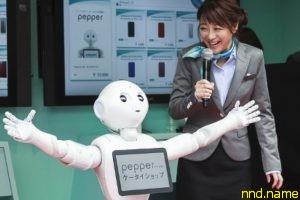Говорящий робот Pepper принят в японскую среднюю школу