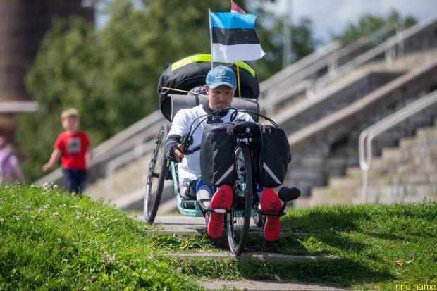 «Белорусский инопланетянин» Александр Авдевич в Эстонии
