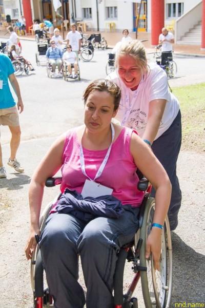 Татьяна Свешникова и Ольга Германенко учатся преодолевать барьеры