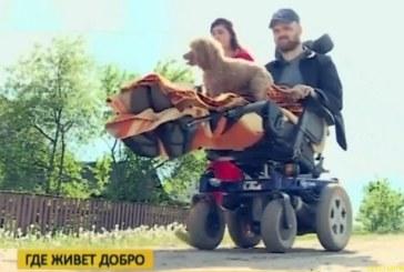 Семья Киселевых строит гостевой дом для инвалидов