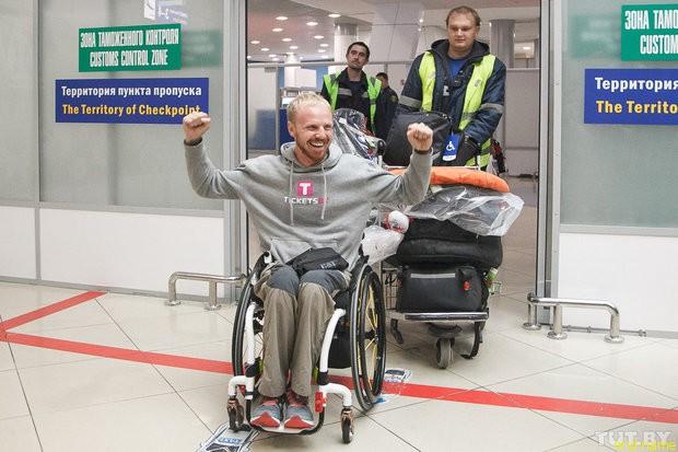 Это возможно -  Саша Авдевич проехал 4 тысячи километров на хендбайке