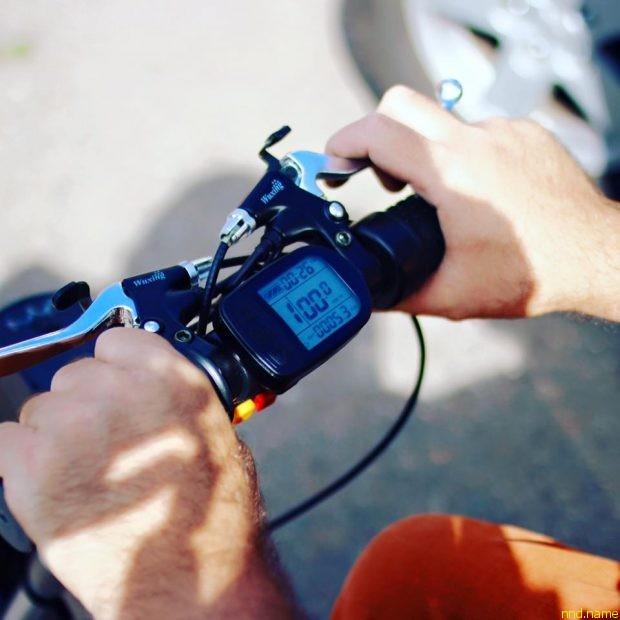 Приставка мотор-колесо от SupremeMotors для коляски
