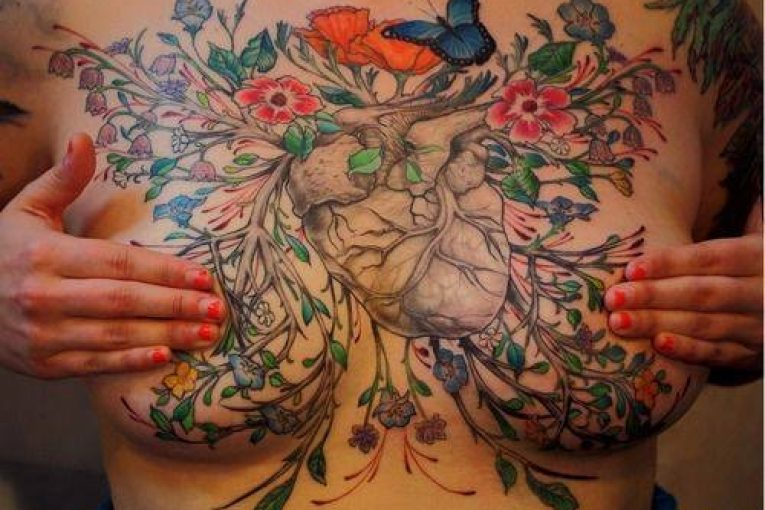 the use of tattoos among women who have undergone mastectomy Though mastectomy tattoos have become more common since thornell's pioneering decision, some women may not be aware of them as a post-surgery option noel franus, an ad agency executive in boulder, colo, said when his sister-in-law, molly ortwein, underwent a mastectomy three years ago, she decided she wanted a chest tattoo but.