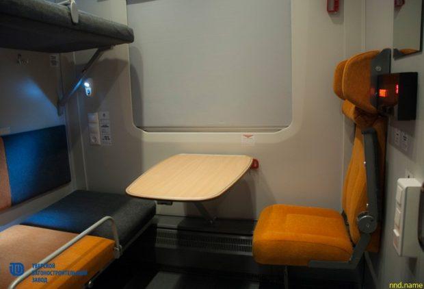 Двухэтажные вагоны с местом для лиц с инвалидностью