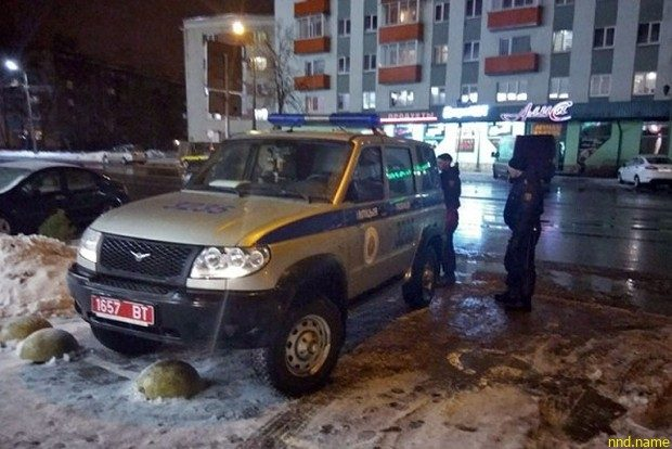 Замечание милиционеру, припарковавшему автомобиль