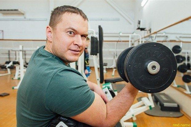 бронзовый призер XV Паралимпийских Игр в метании копья Александр Трипуть