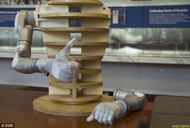 DARPA выпустила биомеханический протез для ветеранов
