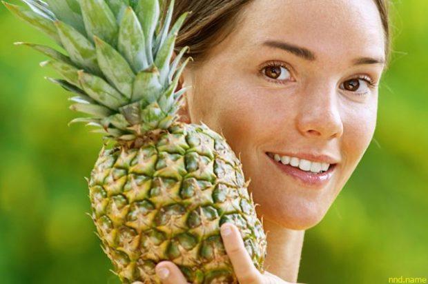 Ананас - один из самых полезных фруктов