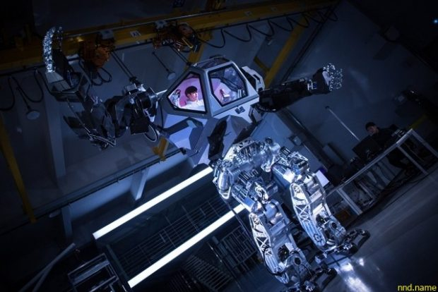 4-метровый робот-экзоскелет от корейских инженеров