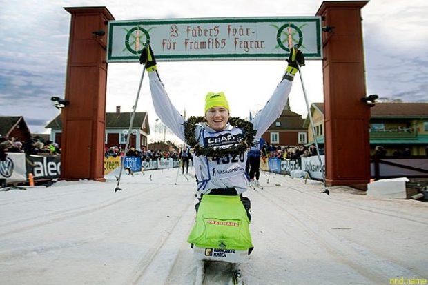 Швед Арон Андерсон покорил Южный полюс в коляске