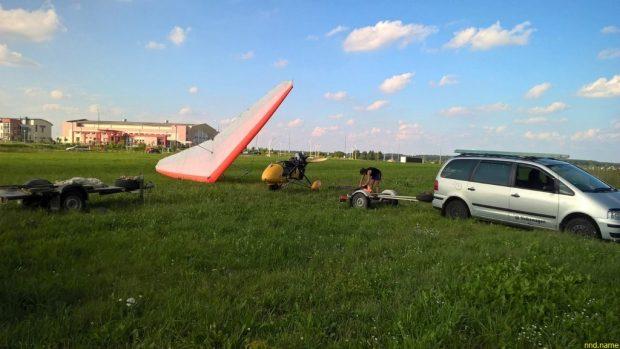 Саша Панкевич - Дельтаплан, Ивацевичи, День МЧС