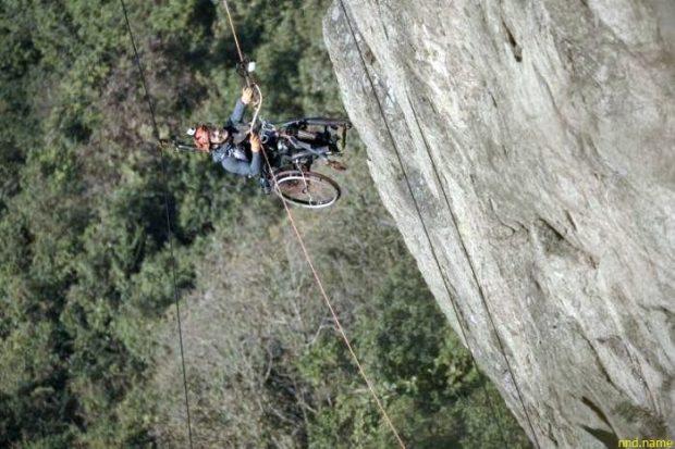 Лайи Чи-Вай из Гонконга покорил 500-метровую скалу