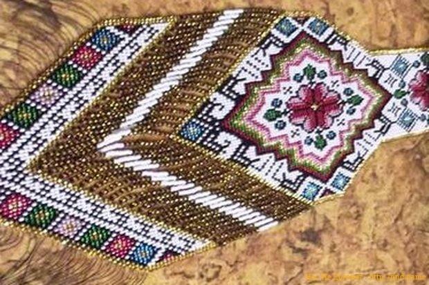 Наталья Мудрик создала крупнейшее ожерелье в мире
