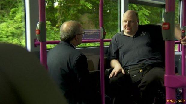 Даг Пулли в автобусе