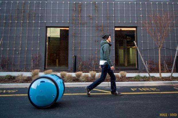В Италии создали робота-носильщика Gita