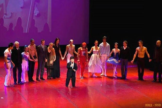 В Москве прошёл благотворительный концерт «Жизнь в движении»