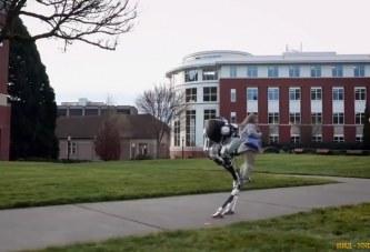 Agility Robotics показала устойчивого двуногого робота