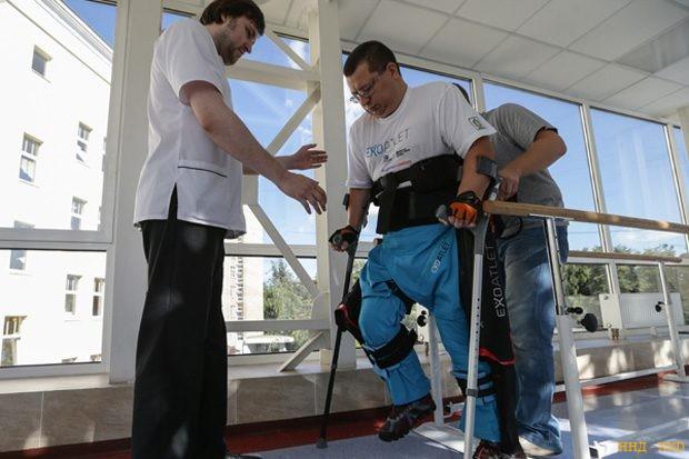 Патент недели: экзоскелет — спасение для людей с ограниченными возможностями