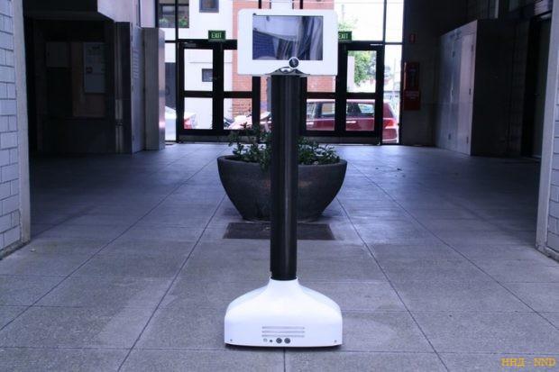 Управляемый мысленно, робот удаленного присутствия