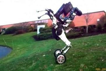Boston Dynamics представила двухколесного робота Handle