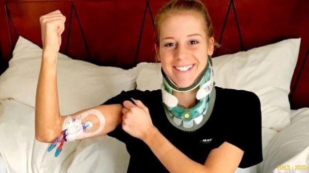 Виктория перенесла 10 сложных операций в течение двух лет