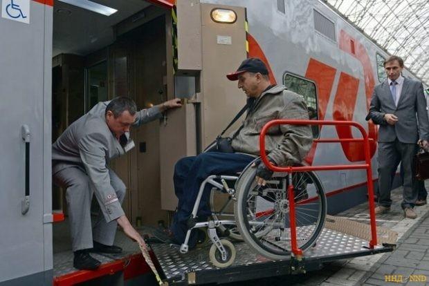 РЖД online-регистрация пассажиров с инвалидностью