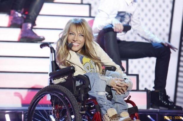 Юлия Самойлова с детства передвигается на инвалидной коляске