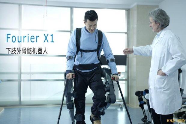 Fourier X1 бюджетный экзоскелет из Китая