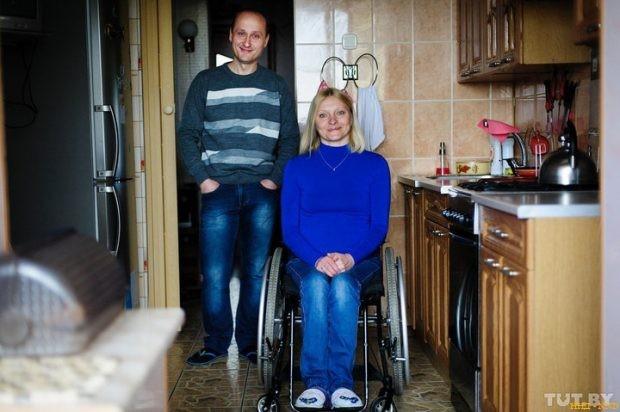Моя Света в коляске, ну и что? История семьи, в которой жена не ходит