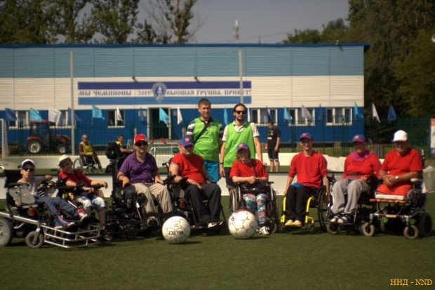 Физкультурно-спортивный клуб «Паралимпик» г. Санкт-Петербург.