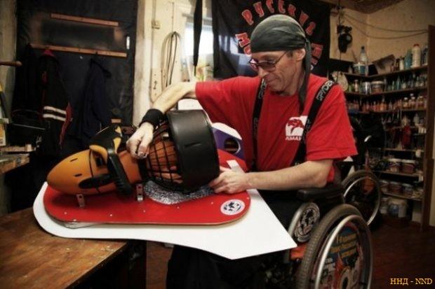 претендует на национальную премию за изобретение подводной коляски